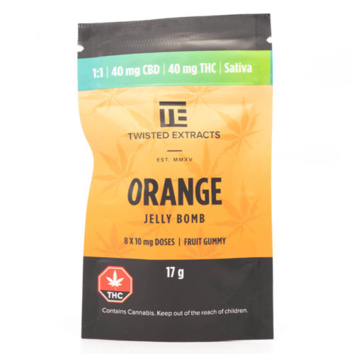 Twisted Extracts Orange Jelly Bomb